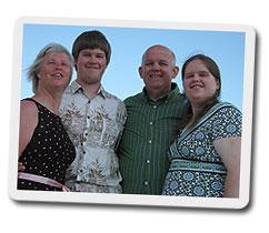 Lori, Jonathan, Pete and Sarah