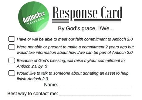 response-card